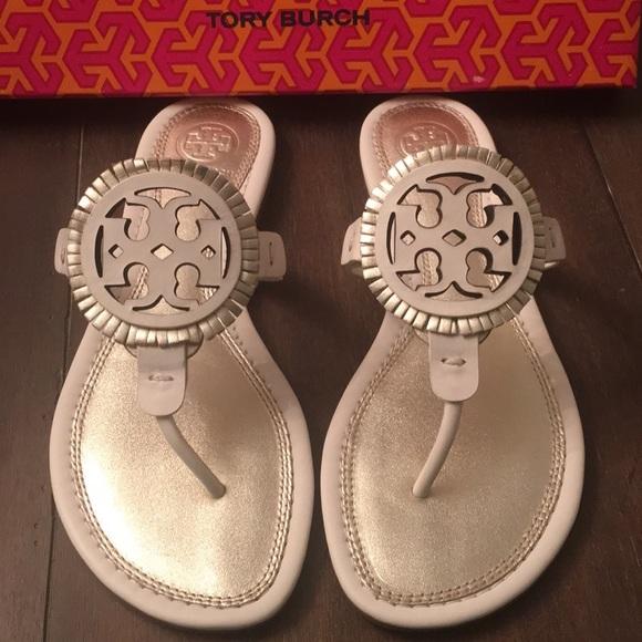 523664ab69cbf 🆕NIB TORY BURCH Miller Sandals size 6.5
